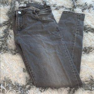 Zara Trafaluc Denim Makers faded Gray Jeans